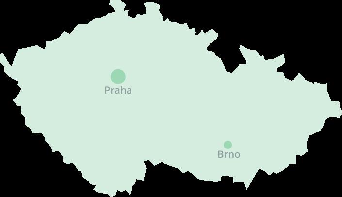 Mapa domovů